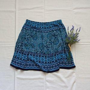 Dress Barn arabesque skirt